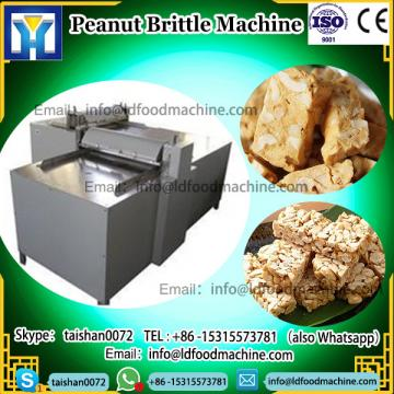 New LLDe High quality Production Protein Cereal Bar machinery Line Brittle Peanut candy Bar make machinery