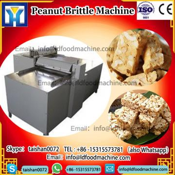 Automatic Stainless Steel Peanut Brittle make Protein Cereal MueLDi Bar Production Line