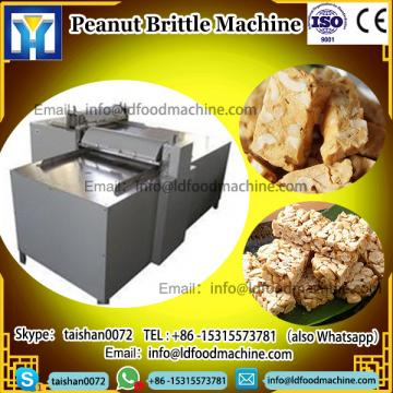 Factory Sale CE Approved Nougat make Peanut Brittle Cereal Bar Cutting machinery