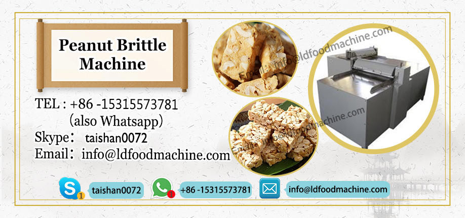 Professional Manufacture Nougat machinery Peanut candy make Cereal Snack Bar machinery